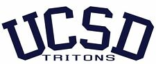 This is a UCSD Tritons college vinyl sticker or decal. Great for Car or laptop!!