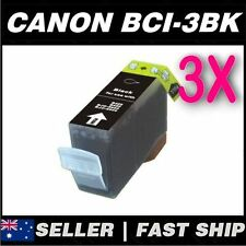 3x Black Ink for Canon BCI-3eBK MP700 MP730 MP750 MP760 MP780 MPC100 MPC400