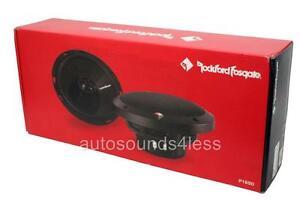 "Rockford Fosgate P1650 110 W 6.5"" 2-Way Coaxial Car Audio Speakers 6-1/2"" New"