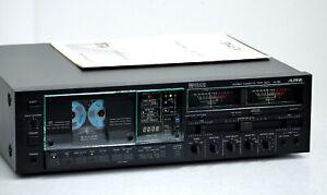 ALPINE AL-90 High-End Cassette Tape Deck 1A-Zustand + BDA! Serviced+1J.Garantie!