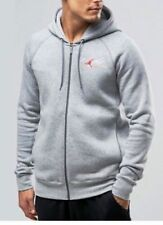 AIR JORDAN Flight Full Zip Fleece HOODIE MENS XXXL AV8057-063 LITE GRAY NWT