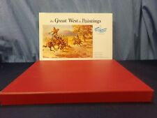 The Great West In Paintings 1969 Fred Harman Lmt. ed. 118/500 Signed w/ slipcase