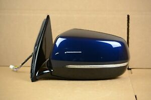 17 18 19 20 Acura MDX Mirror Left LH Driver Side OEM Blue 2017-2020 Heated