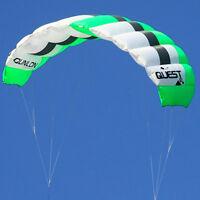 3sqm Dual Line Traction Powerkites Trainer Kite Beginner Surfing Landboarding
