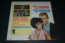 Original Soundtrack~When The Boys Meet The Girls~Sam The Sham~Louis Armstrong