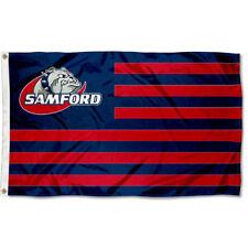 Samford University Bulldogs Stars and Stripes Nation USA Flag