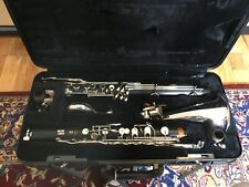 Yamaha YBC221II Bb Bass Clarinet Outfit with Mouthpiece and Case - Used