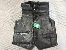 Giovanni Navarre® Italian Stone™ Design Genuine Leather Vest XL