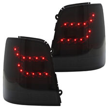 LITEC LED Rückleuchten Heckleuchten VW Touran 1T Bj. 03-10 Schwarz/Smoke