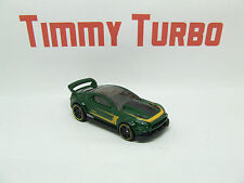 HOT WHEELS FORD MUSTANG 2015 CUSTOM METALLIC GREEN THEN AND NOW MINT