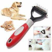 Pet Dog Hair Comb Brush Grooming Brush Rake Stainless Comb for Long Hair Dog