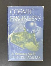 Cosmic Engineers by Clifford D. Simak Gnome Press 1950 FIRST EDITION