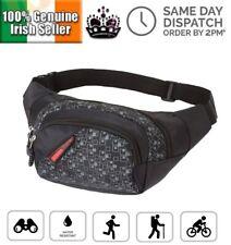 3 Zipped Sports BumBag Travel Money Belt Waist Pouch Fanny Pack Festival Zip Bag