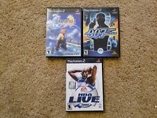 Playstation 3 Game Lot: Final Fantasy X, 007 Agent Under Fire, NBA Live 2001