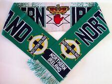 NORTHERN IRELAND Football Scarf New from Soft Luxury Acrylic Yarns