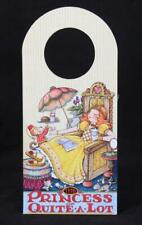 "Mary Engelbreit ""The Princess Of Quite A Lot"" Cardboard Door Hanger"
