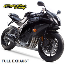 Two Brothers (06-18) Yamaha R6 COMPLETE Exhaust System Black Series Carbon Fiber