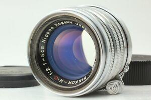 【EXC+5】NIKON NIPPON KOGAKU NIKKOR-HC L 50mm f/2 Leica screw mount by FedEx JAPAN