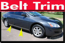 Honda ACCORD COUPE CHROME SIDE BELT TRIM DOOR MOLDING 03 04 05 06 07 2008-2012