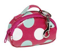 Rouge à pois toile cirée Mini sac porte-clés chaîne Katz Dancewear KR11 Noël