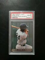 1995 FLEER M.L. Pros. Derek Jeter Licensor Logos on back PSA 10