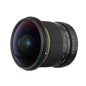 8mm f/3.0 Fisheye Lens for Canon EOS EF Ultra Wide Angle Aspherical Lens