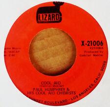 PAUL HUMPHREY - COOL AID b/w DETROIT - LIZARD - FUNK 45