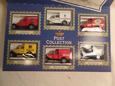 NEW IN BOX VINTAGE 1995 MATCHBOX COLLECTABLE POST VEHICLES OF THE WORLD SET OF 6