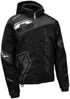 Castle X Mens Code Black/Charcoal/White Jacket Winter Snowmobile Coat