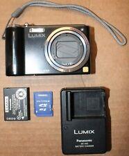 Panasonic LUMIX DMC-ZS3 10.1MP Digital Camera 2GB SD Card Battery and Charger