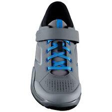 New Shimano AM7 Enduro Trail DownHill Off Road Bike Shoe Grey / Blue - Size 40