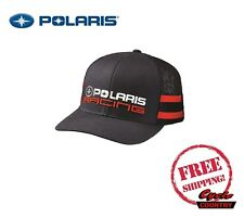 POLARIS RACING CLASSIC HAT TRUCKER CAP BASEBALL RZR RMK SPORTSMAN ACE NAVY BLUE