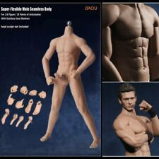 1/6 Scale Normal Skin Seamless Male Figure Body w/ Steel Skeleton for Phicen  YX