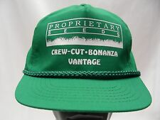 PROPRIETARY SEEDS - GREEN - VINTAGE - ADJUSTABLE SLIDER BALL CAP HAT!