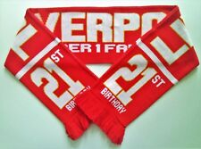 Liverpool Football Scarves Scarf Memorabilia 21st Birthday Present / Gift