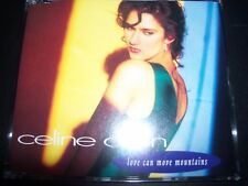Celine Dion ‎– Love Can Move Mountains Australian Remixes CD Single – Like New