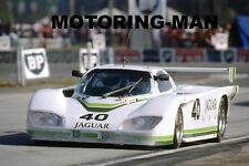 Jaguar XJR5 groupe 44 Racing Photo Le Mans 1984 Tony Adamowicz Watson Lena