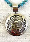 Southwest Kokopelli Sterling Silver Reversible Pendant