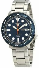 Seiko 5 Sports Bottle Cap 100M Blue Dial Blue Bezel Men's Watch
