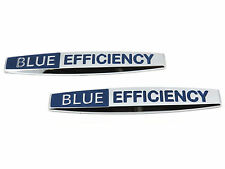 2x Genuine New MERCEDES BLUE EFFICIENCY BADGE B180 C250 C E CLK CL CLC CLK SLK