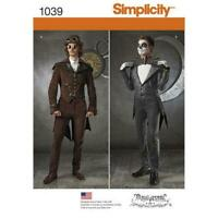 Simplicity Sewing Pattern 1039 Men's Cosplay Costume Steampunk Vintage AA 38-44