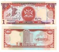 TRINIDAD & TOBAGO UNC $1 Dollar (2006) P-46A Banknote Paper Money