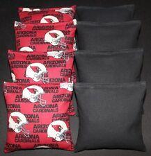 "All Weather ""Arizona Cardinals"" Cornhole Bean Bags Resin Filled Waterproof!"