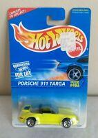 Hotwheels Porsche 911 Targa Yellow Die Cast 1:64