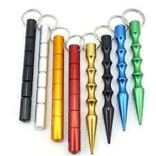 Outdoor Self-Defense Aluminum Alloy Pen Kubaton Tactical Survival Pen Keychain