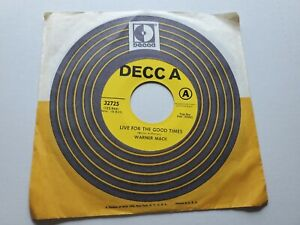 Warner Mack - Live For The Good Times / Another Mountain To Climb 1970 Promo NM