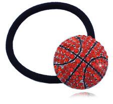 Basketball Sports Ball Charm Ponytail Elastic Hair Tie Holder for Girls hp38