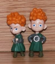 Walt Disney Hamish & Hubert From the Movie Brave 2 Inches Tall Figurine Toy READ