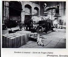 1968  --  FONDERIE A MAZOUT   UNISE DE FROGES   ISERE  3K542