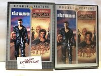 Double Feature: The Road Warrior / Mad Max W/ Rare Father's Day Sleeve New